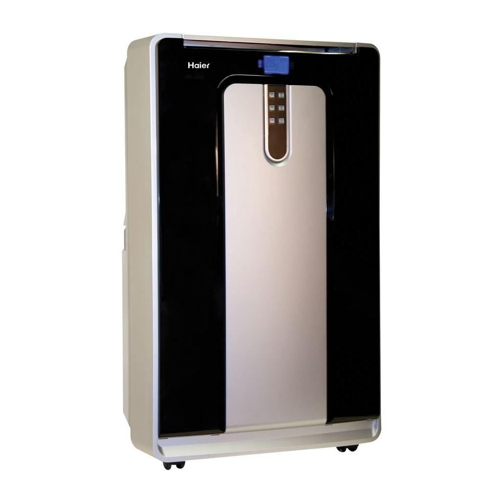 Haier 14,000 BTU 600 sq. ft. Cool Only Portable Air Conditioner, 110-Pints per Day Moisture Removal in Dehumidification Mode