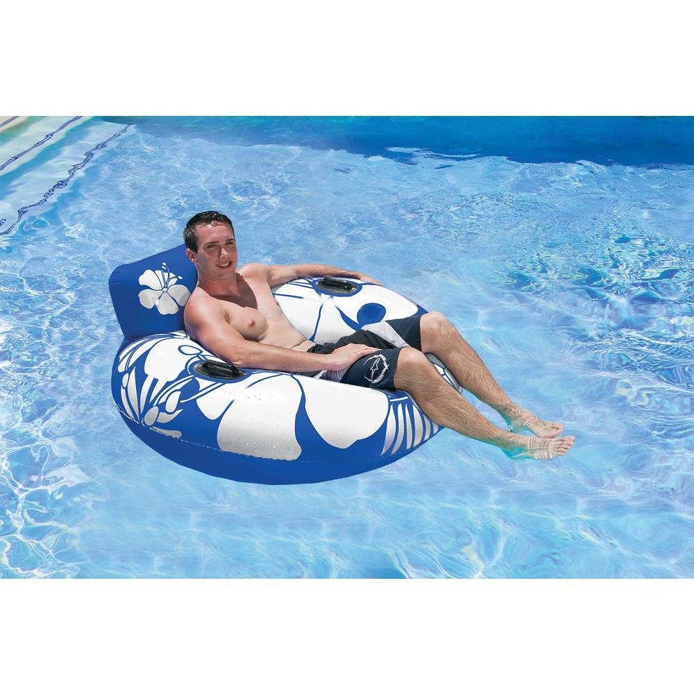 Poolmaster Blue Day Dreamer Swimming Pool Float Lounge