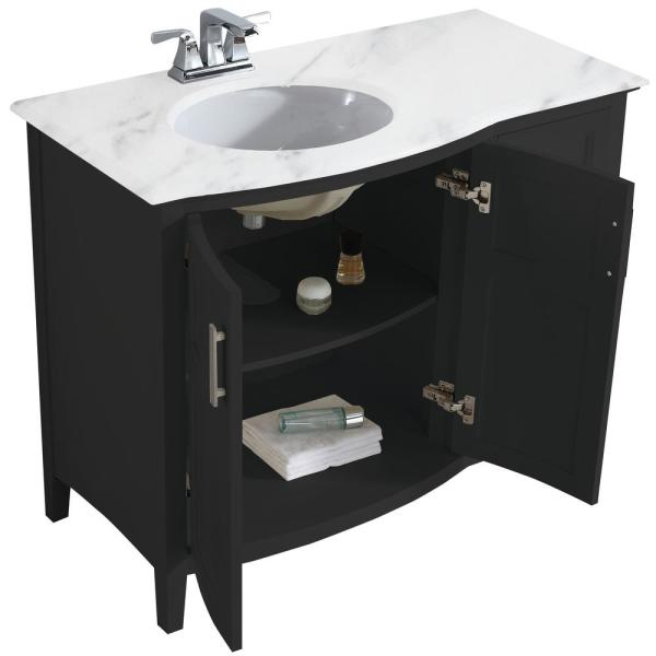Rounded Front Bath Vanity