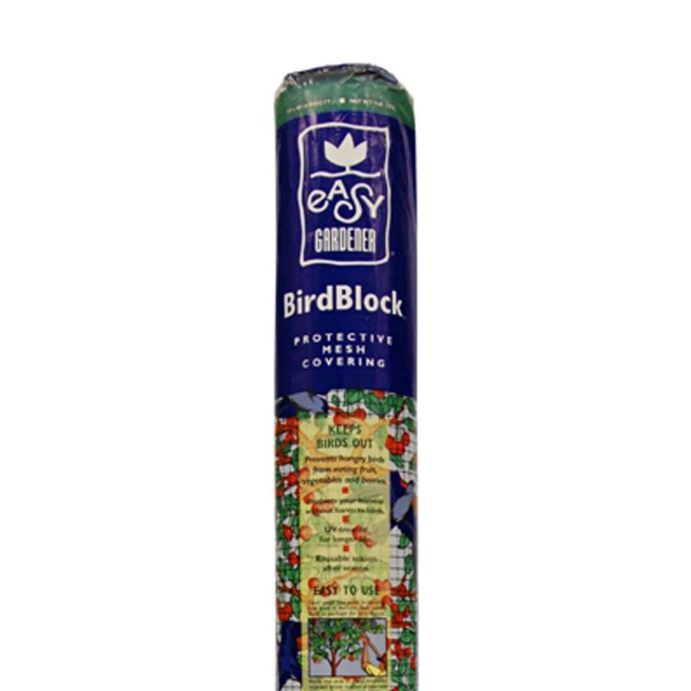 EasyGardener Easy Gardener 7 ft. x 20 ft. Polypropylene Bird Block Netting and Barrier, UV Treated