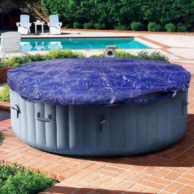 24 ft. Round Above Ground Pool Cover for Winter or Summer