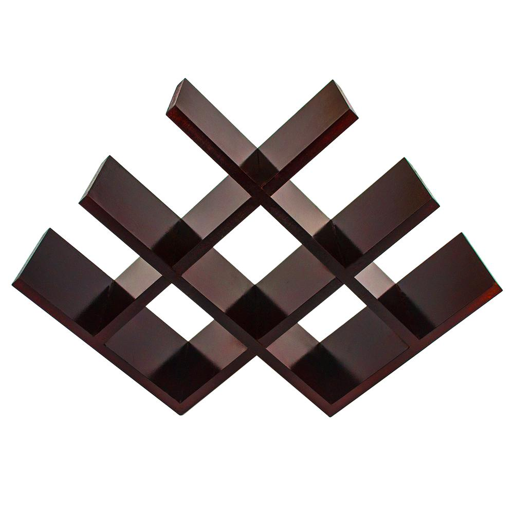 Sorbus Sleek 4 In X 11 5 In Butterfly Wine Rack Stores 8