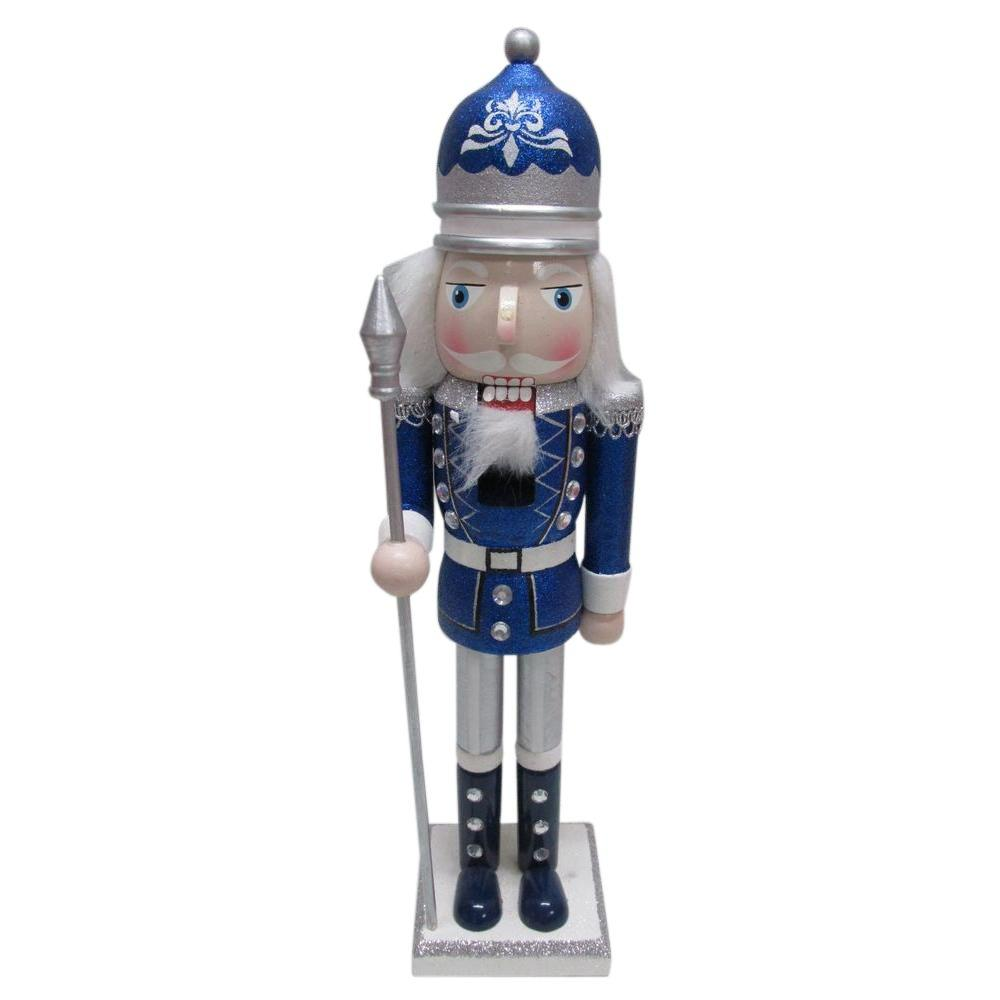 15 in. Glitter Nutcracker Christmas Ornament (4 Assorted)