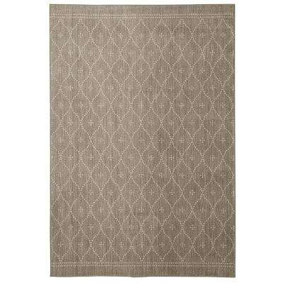 Palais Gray By Under The Canopy 5 ft. x 8 ft. Area Rug