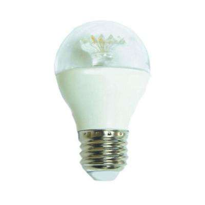 60W Equivalent Soft White G16.5 Dimmable Clear LED Light Bulb (12-Pack)