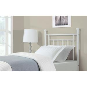 Magnificent Dorel Living Twin White Metal Headboard Fa3151Tw Tyf The Beutiful Home Inspiration Truamahrainfo