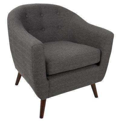 Rockwell Grey Accent Chair