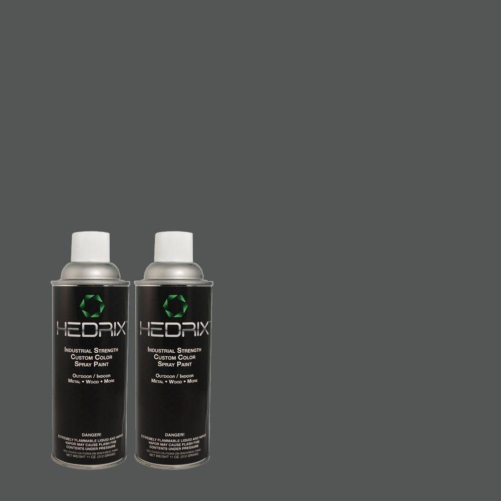 Hedrix 11 oz. Match of PPOC-75 Unforgiven Gloss Custom Spray Paint (2-Pack)