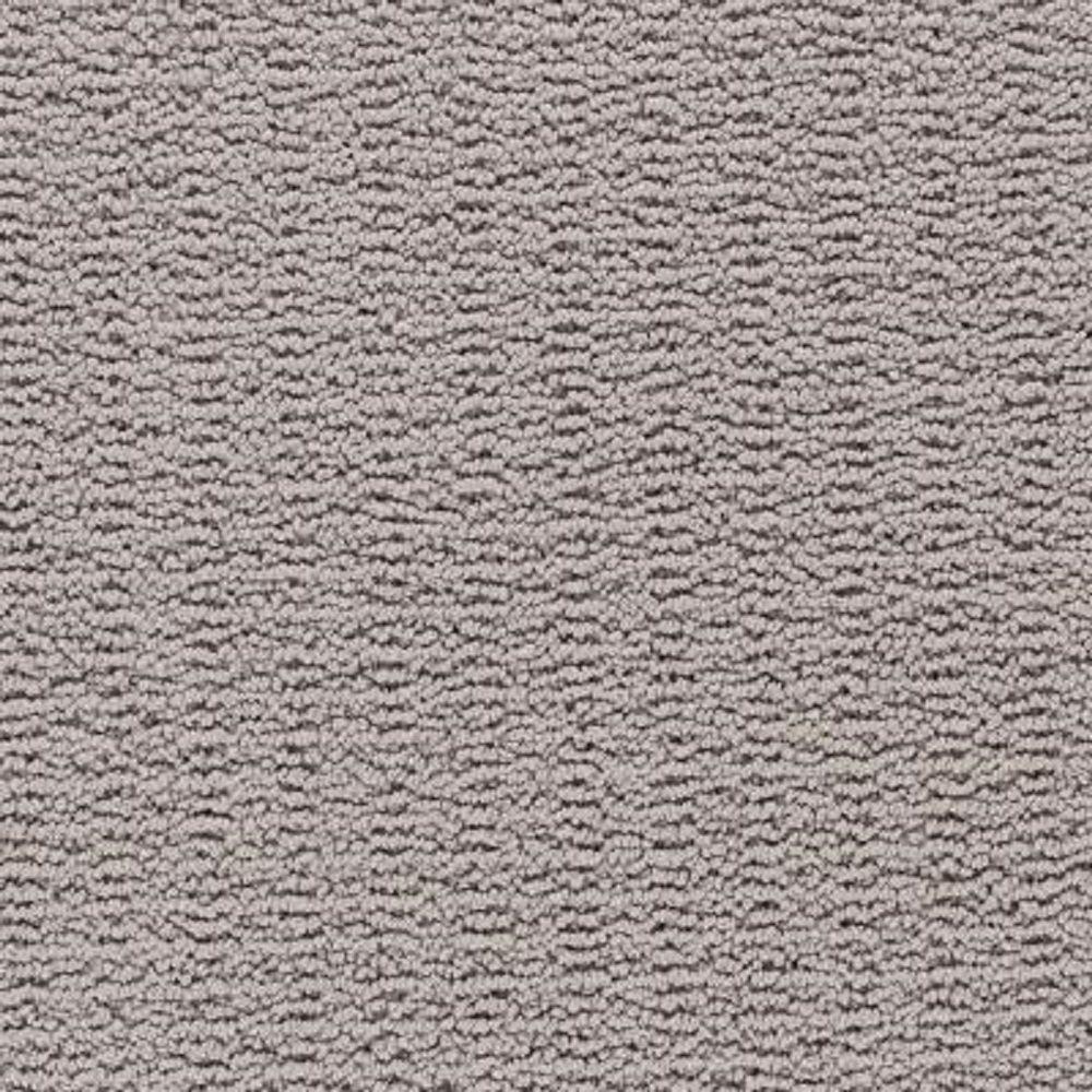Carpet Sample - Plumlee - Color Pewter Loop 8 in. x 8 in.