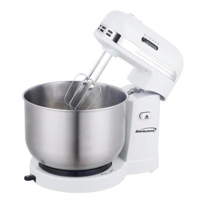 3 Qt. 5-Speed White with Stainless Steel Mixing Bowl Stand Mixer
