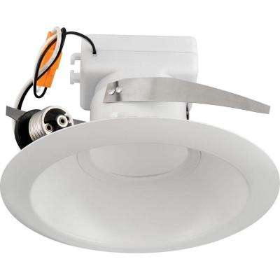 6 in. White Recessed LED Trim (3500K)