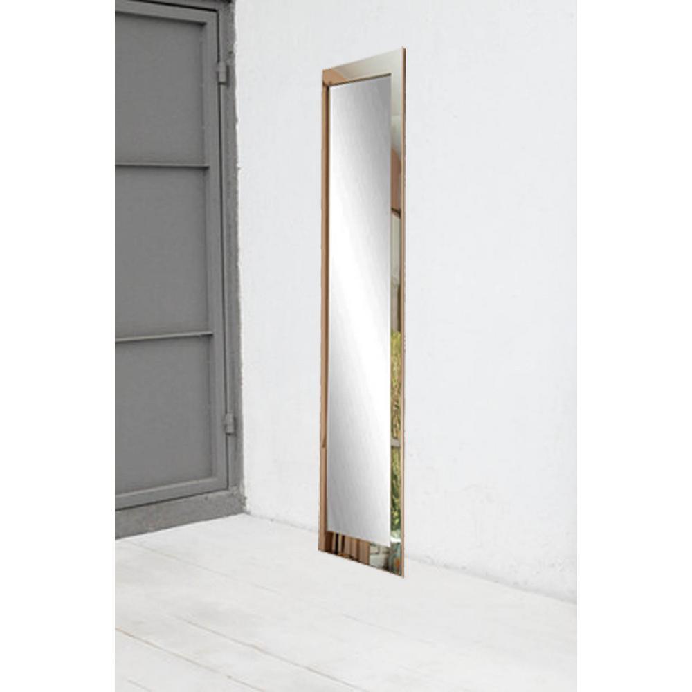 Ultra Modern Chrome Full Length Framed Mirror