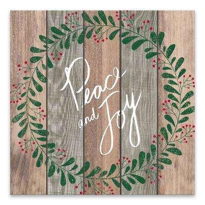 """""""Peace and Joy"""" by Lot26 Studio Printed Canvas Wall Art"""