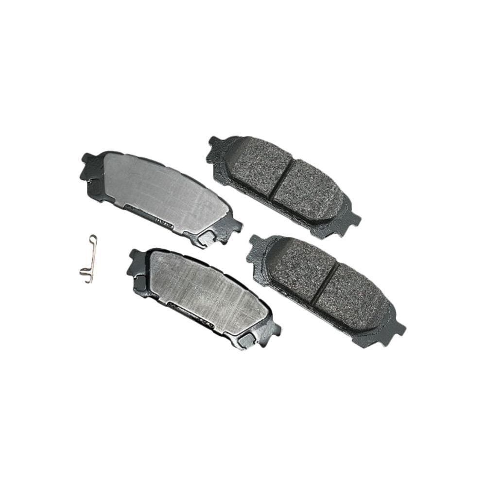 Akebono ProACT Ultra Premium Ceramic Pads - Rear