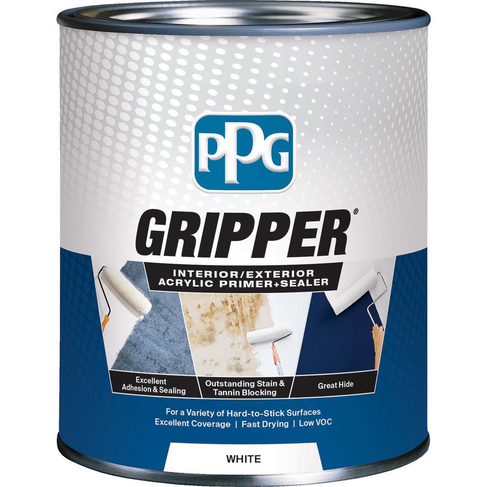 PPG Gripper 1-qt. White Interior/Exterior Acrylic Primer Sealer