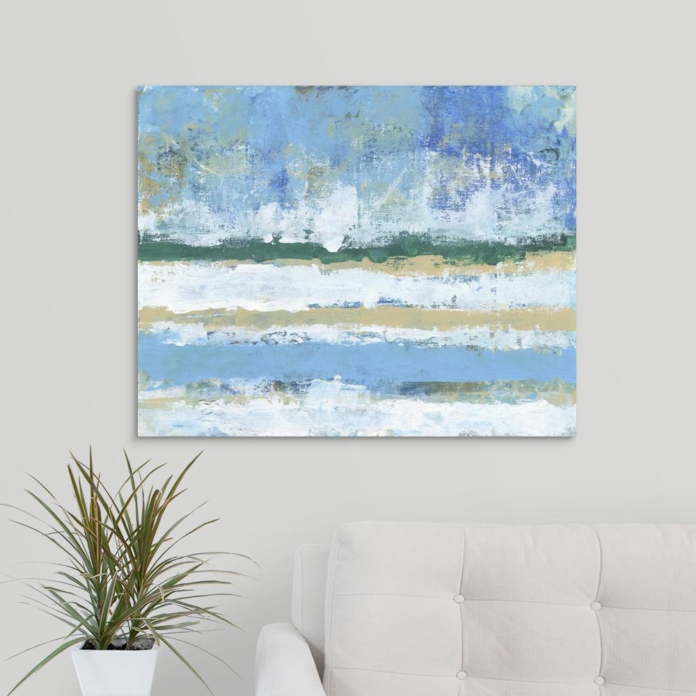 ''Beachy Coastal'' by Smith Haynes Canvas Wall Art