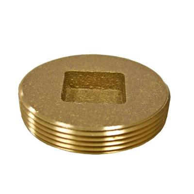 1-1/2 in. Countersunk Southern Code Brass Cleanout Plug 1-7/8 in. O.D. for DWV