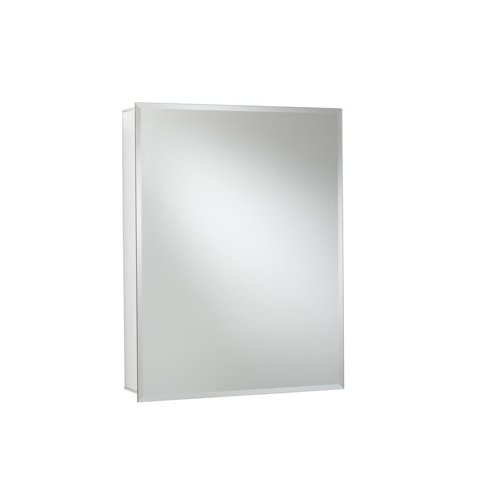 JACUZZI 24 in. x 30 in. Recessed or Surface Mount Single Door Medicine Cabinet
