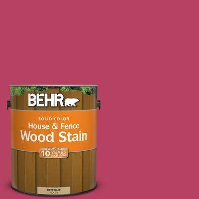 1 gal. #P130-7 Glamorous Solid Color House and Fence Exterior Wood Stain