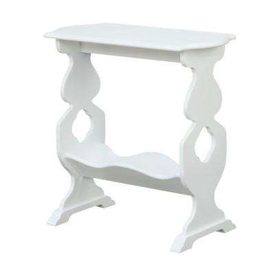 American Heritage Willow White End Table