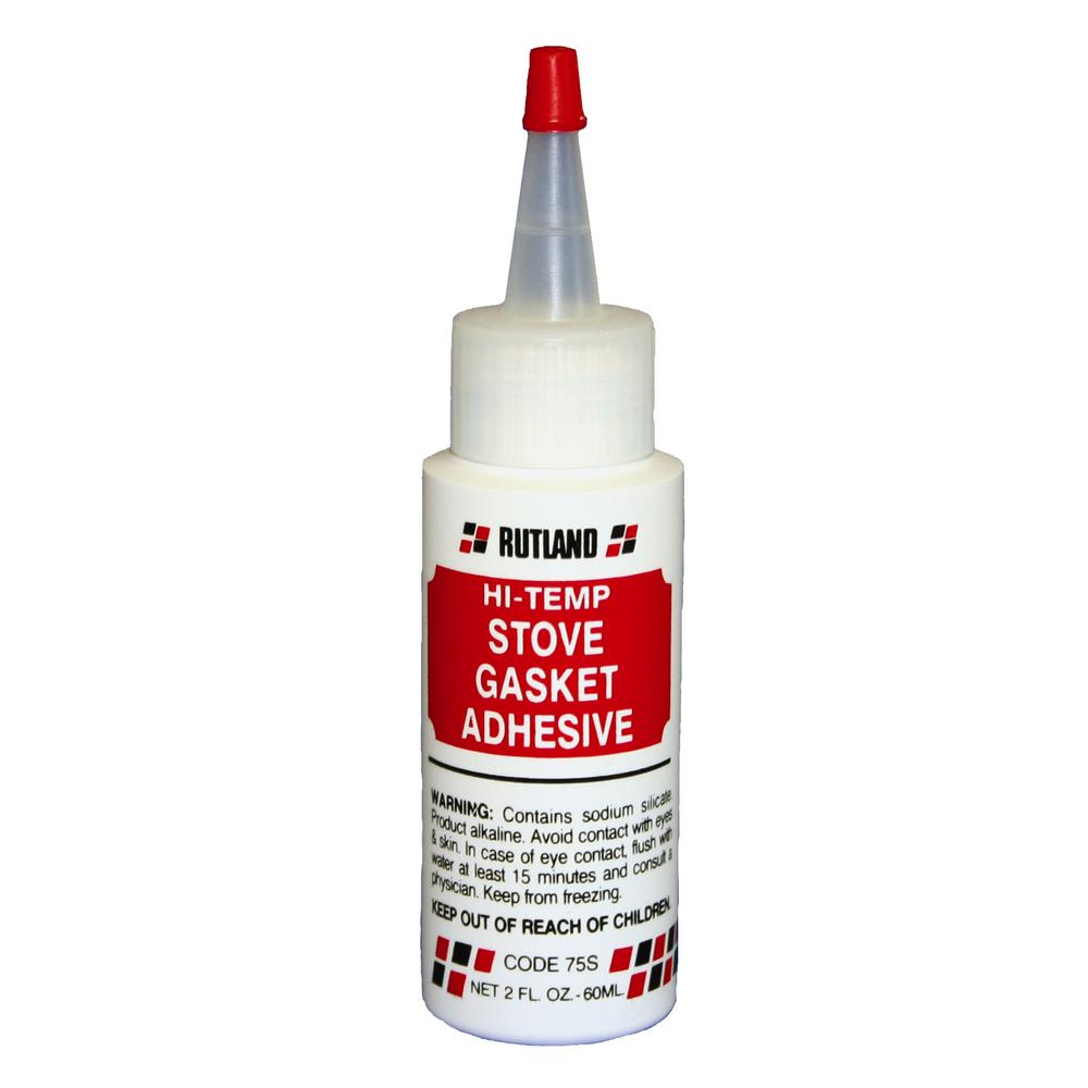 2 fl. oz. Stove Gasket Adhesive Clear Bottle