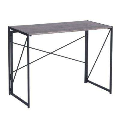 Harper Brown Writing Table Foldable