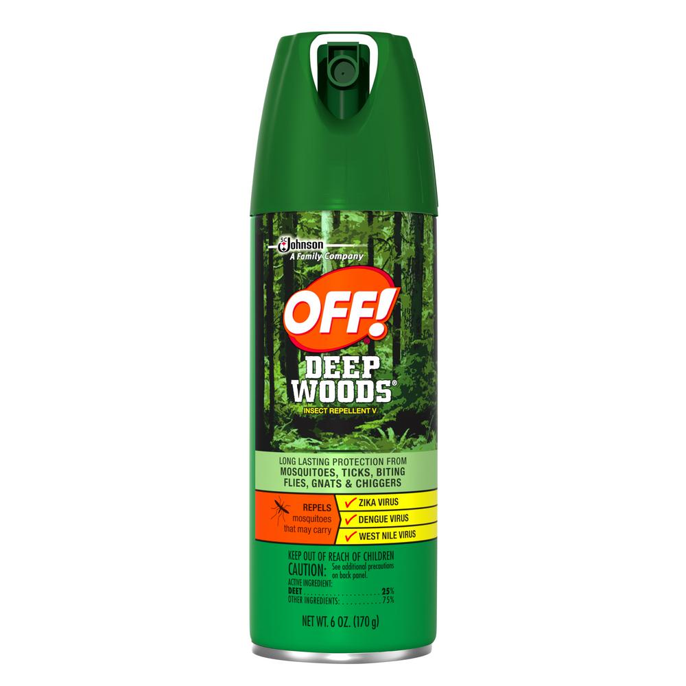OFF OFF! Deep Woods 6 oz. Insect Repellent Aerosol Spray