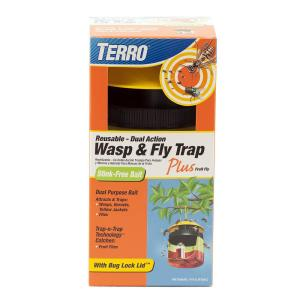 Terro Wasp and Fly Trap Plus Fruit Fly by Terro