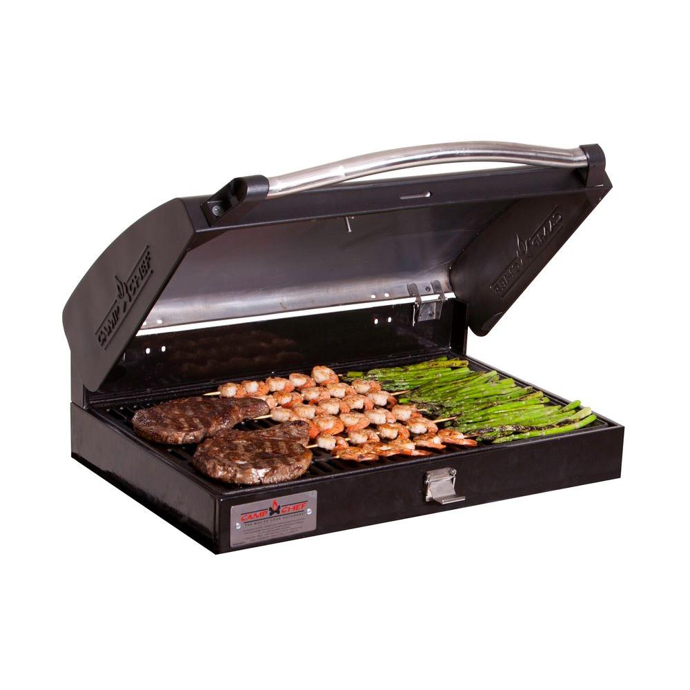 Camp Chef Professional Barbecue Grill Box for 3-Burner Stove