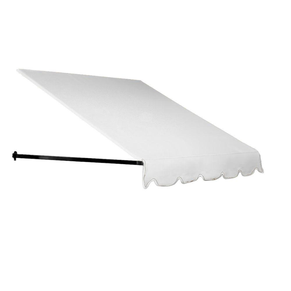 Beauty-Mark 8 ft. Dallas Retro Window/Entry Awning (16 in. H x 30 in. D) in Off-White