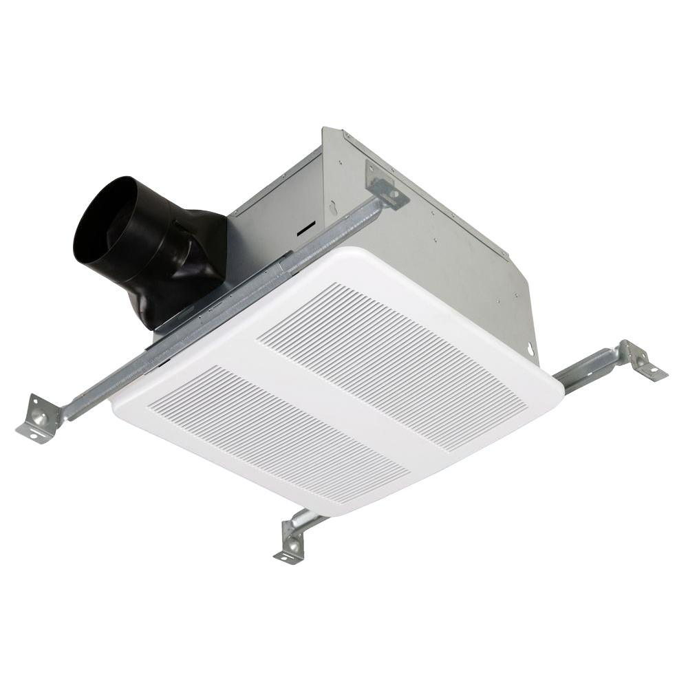 Kitchen Ceiling Exhaust Fan With Light: STERLING Ultra Quiet 80 CFM Ceiling Mount Bathroom Exhaust
