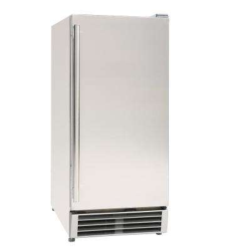 3 cu. ft. Single Door Mini Refrigerator in Black with Stainless Steel Door