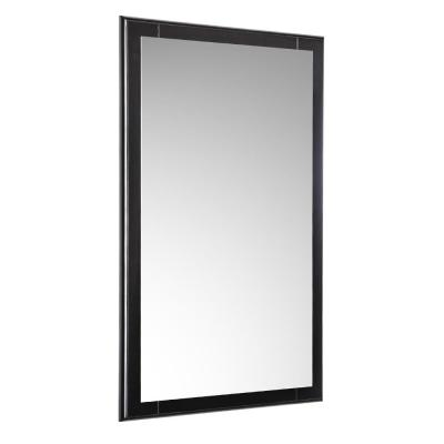 Oxford 20 in. W x 32 in. H Framed Wall Mirror in Espresso