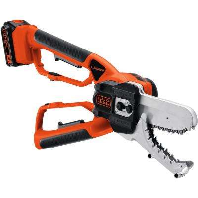 6 in. 20-Volt MAX Lithium-Ion Electric Cordless Alligator Lopper