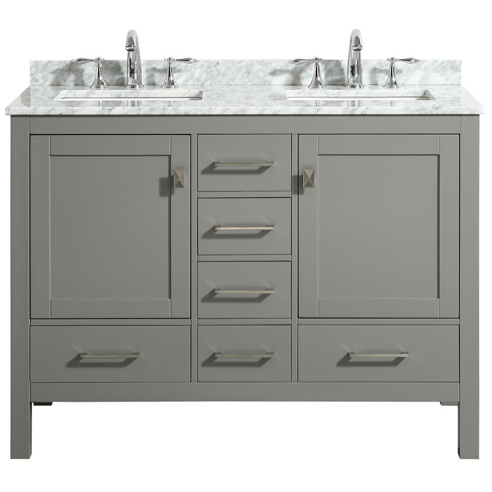 48 Inch Vanities Double Sink Bathroom Vanities Bath The