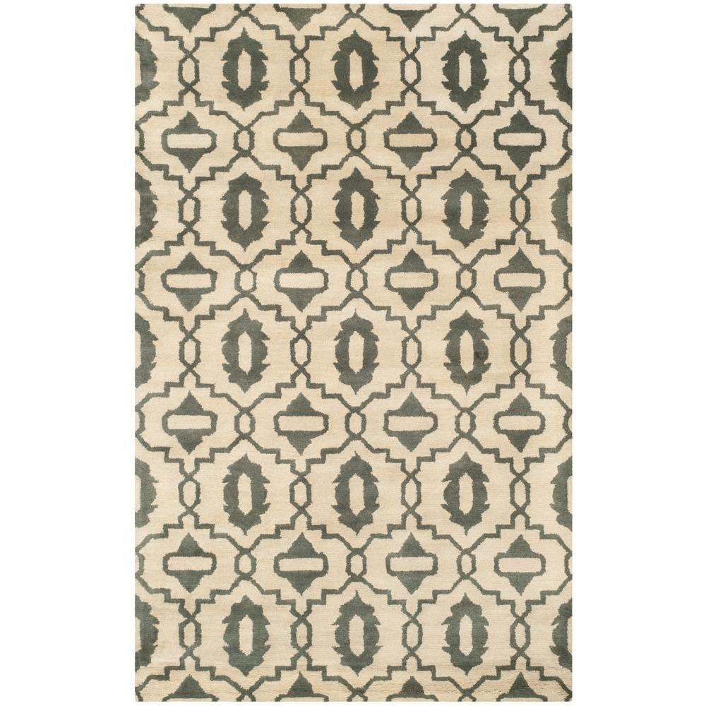 Safavieh Chatham Beige/Grey 8 ft. x 10 ft. Area Rug