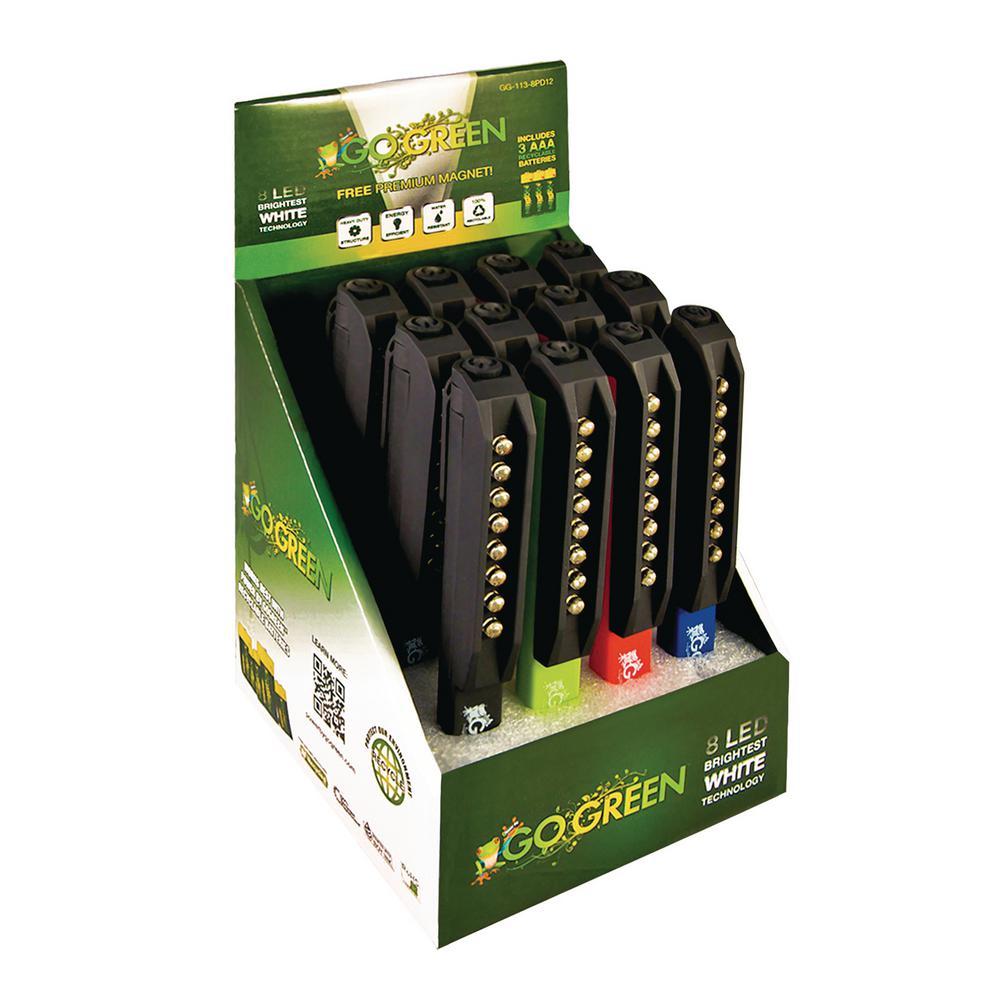 8 LED Pocket Light Display (12-Piece)