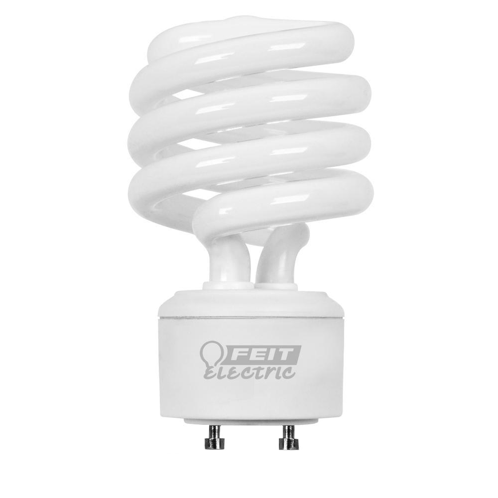 Feit Electric 100W Equivalent Cool White (4100K) Spiral GU24 CFL Light Bulb