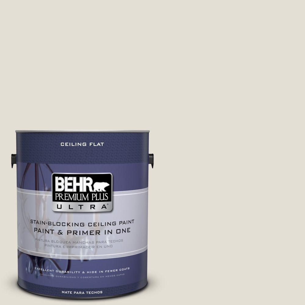 BEHR Premium Plus Ultra 1-Gal. No.UL190-11 Ceiling Tinted to Guesthouse Interior Paint