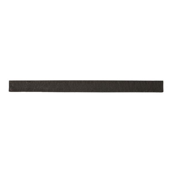 Stacked Stone Iron Ore 42 in. x 1.25 in. x 3.5 in. Faux Stone Siding Trim