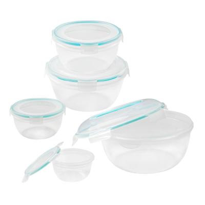 Airtight 10-Piece Plastic Bowl Set