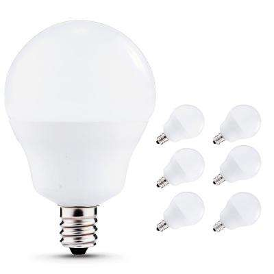 40-Watt Equivalent 5W G15 Non-Dimmable Global LED Light Bulb E12 Base in Natural Daylight White 4000K (6-Pack)