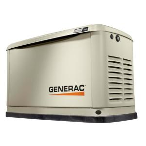 Generac 11,000-Watt (LP)/10,000-Watt (NG) Air Cooled Standby Generator by Generac
