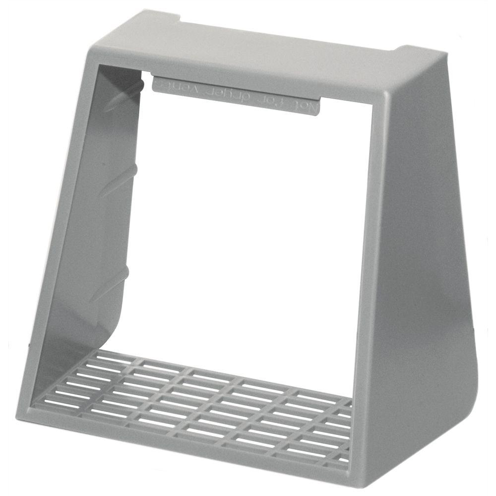 Builders Edge 4 in. Hooded Vent Small Animal Guard #030-Paintable