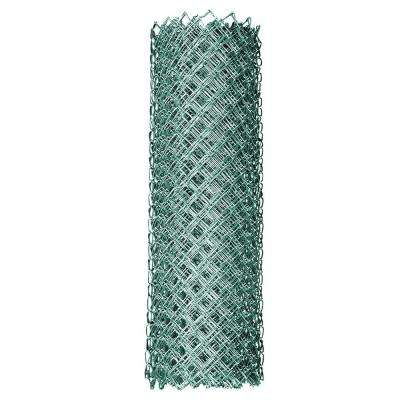 6 ft. x 50 ft. 9-Gauge Galvanized Steel Chain Link Fabric