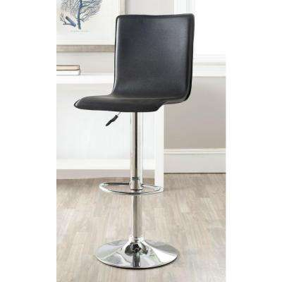 Excellent Magda Adjustable Height Chrome Swivel Cushioned Bar Stool Gmtry Best Dining Table And Chair Ideas Images Gmtryco
