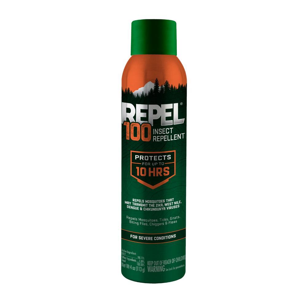 4 oz. 100 Insect Repellent Aerosol