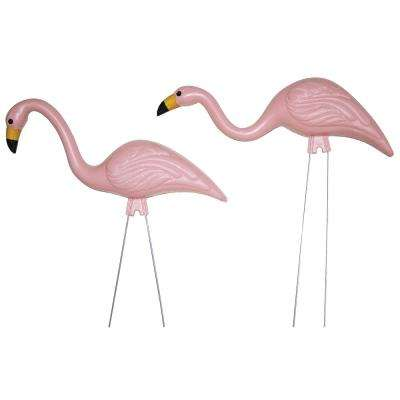 BABYmingos 21 in. Baby Shower Pink Flamingo (10-Pack)