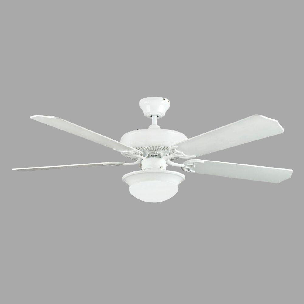 Heritage Fusion Series 52 in. Indoor White Ceiling Fan