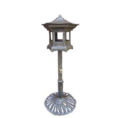 Lantern Bird House Antique Bronze